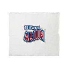 The Incredible Arjun Throw Blanket