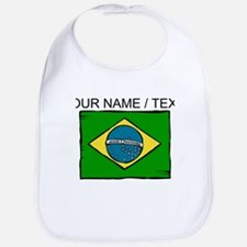 Custom Brazil Flag Bib