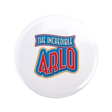 """The Incredible Arlo 3.5"""" Button (100 pack)"""