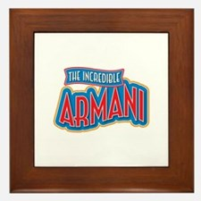 The Incredible Armani Framed Tile