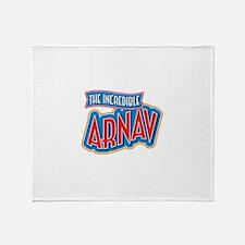 The Incredible Arnav Throw Blanket