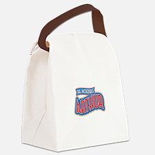 The Incredible Arthur Canvas Lunch Bag