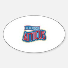 The Incredible Atticus Decal