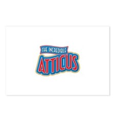 The Incredible Atticus Postcards (Package of 8)
