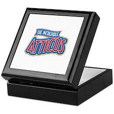 The Incredible Atticus Keepsake Box