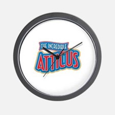 The Incredible Atticus Wall Clock