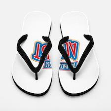 The Incredible August Flip Flops