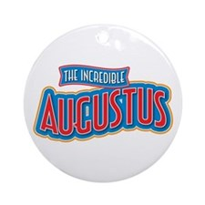 The Incredible Augustus Ornament (Round)