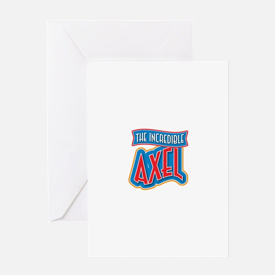 The Incredible Axel Greeting Card