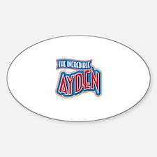 The Incredible Ayden Decal