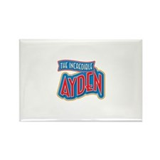 The Incredible Ayden Rectangle Magnet