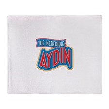 The Incredible Aydin Throw Blanket