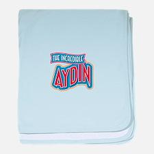 The Incredible Aydin baby blanket