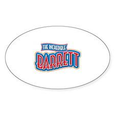The Incredible Barrett Decal