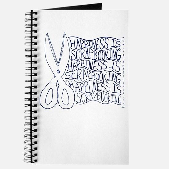 Scrapbook Doodle 2 Blue Journal