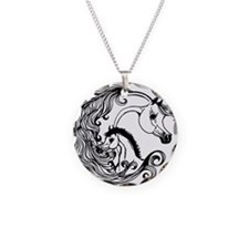 mare and foal design.png Necklace