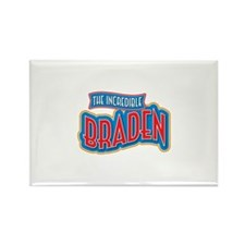 The Incredible Braden Rectangle Magnet (100 pack)