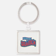 The Incredible Braiden Keychains