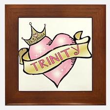 Sweetheart Trinity Custom Princess Framed Tile