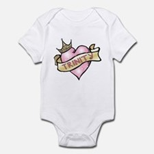 Sweetheart Trinity Custom Princess Infant Bodysuit