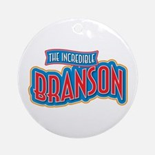The Incredible Branson Ornament (Round)