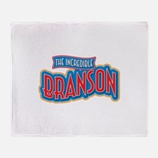 The Incredible Branson Throw Blanket