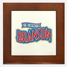 The Incredible Branson Framed Tile