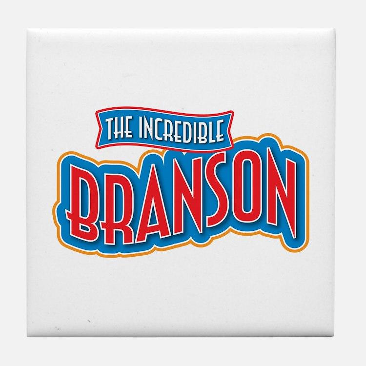 The Incredible Branson Tile Coaster