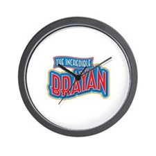 The Incredible Brayan Wall Clock