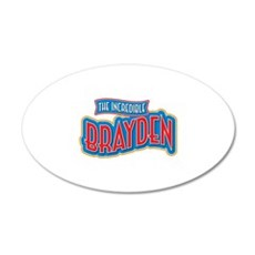 The Incredible Brayden Wall Decal