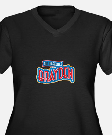 The Incredible Brayden Plus Size T-Shirt