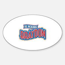 The Incredible Braydon Decal