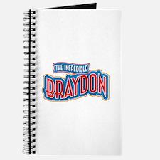 The Incredible Braydon Journal