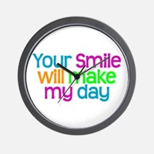 YOUR SMILE - Wall Clock