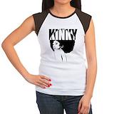 Afro Women's Cap Sleeve T-Shirt