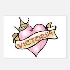Sweetheart Victoria Custom Princess Postcards (Pac
