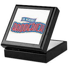 The Incredible Broderick Keepsake Box