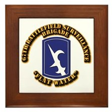SSI - 67th Battlefield Surveillance Brigade Framed
