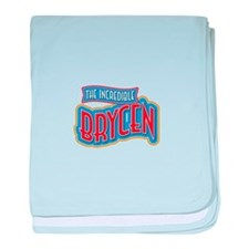The Incredible Brycen baby blanket