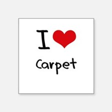 I love Carpet Sticker