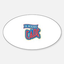 The Incredible Cade Decal