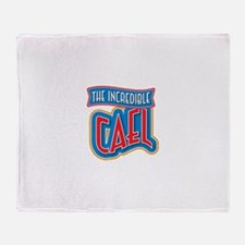The Incredible Cael Throw Blanket
