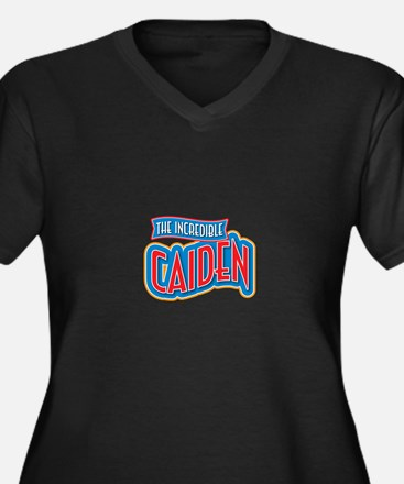 The Incredible Caiden Plus Size T-Shirt