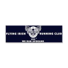 Flying Irish Running Club Car Magnet 10 x 3