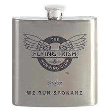 Flying Irish Running Club Flask