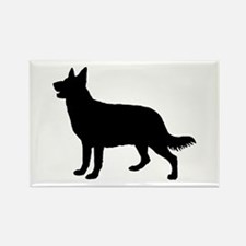 Dog, Perro, Chien, Hund, Cane Rectangle Magnet