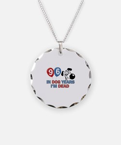 Funny 96 year old designs Necklace