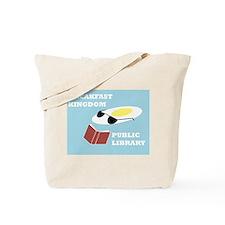 Breakfast Kingdom Public Library Tote Bag
