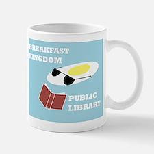 Breakfast Kingdom Public Library Mug