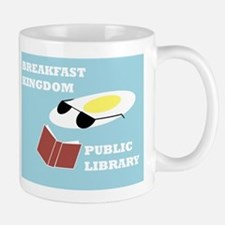 Breakfast Kingdom Public Library Small Small Mug